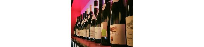Vins rouges des régions françaises et étrangères - caviste lyon 2ème
