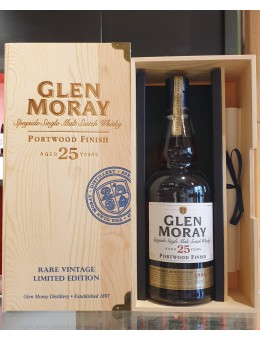 Glen Moray 25 ans Portwood...
