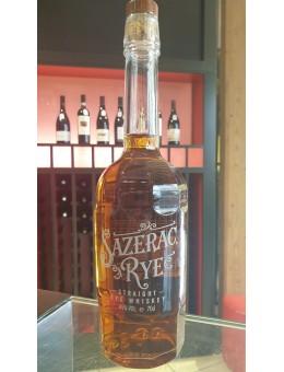 Sazerac Rye bourbon...