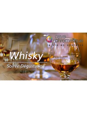Soirée whisky 25 septembre...