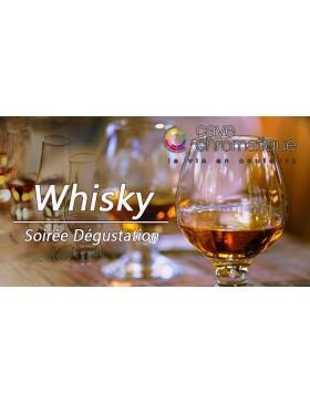 Soirée whisky 2 décembre 2021
