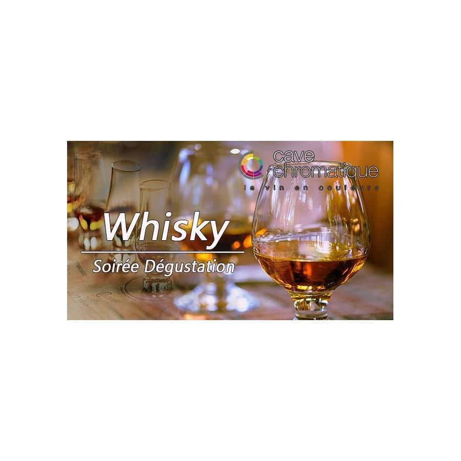 Soirée initiation au whisky 15 octobre 2019
