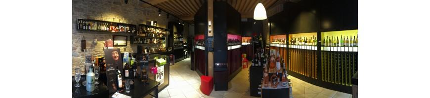 Une sélection de vins français et étrangers à retrouver sur Lyon 2ème